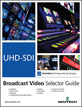 Semtech Design Support Resources Broadcast Selector Guide