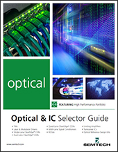 Semtech Design Support Resources Optical Selector Guide