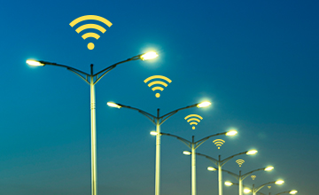 LoRa and Internet of Things smart city street lights