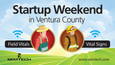 Semtech Announces New Innovations from Second-Annual Startup Weekend Ventura County Using Semtech's LoRa Technology and LinkCharge, entrepreneurs and students competed to develop real-world IoT applications