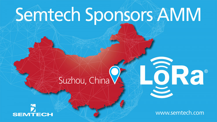 Semtech Sponsors LoRa Alliance 9th All Members Meeting in China