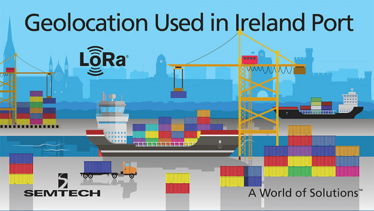 Semtech LoRa Geolocation Used in Ireland's Second Busiest Port to Track Shipping Assets Net Feasa Ltd. successfully implements LoRaWAN™-based IoT network for location and sensor services in the Port of Cork