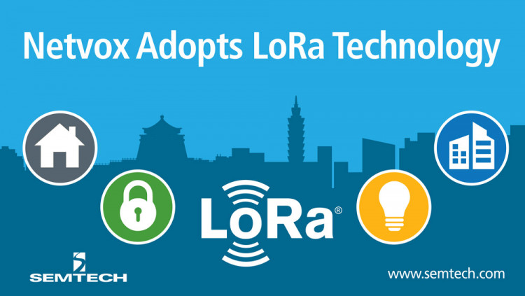 Netvox Releases Eight Smart Building Sensors with Semtech's LoRa Technology Netvox transitions to LoRa Technology and the LoRaWAN™ protocol for its 250 smart building and smart home sensors