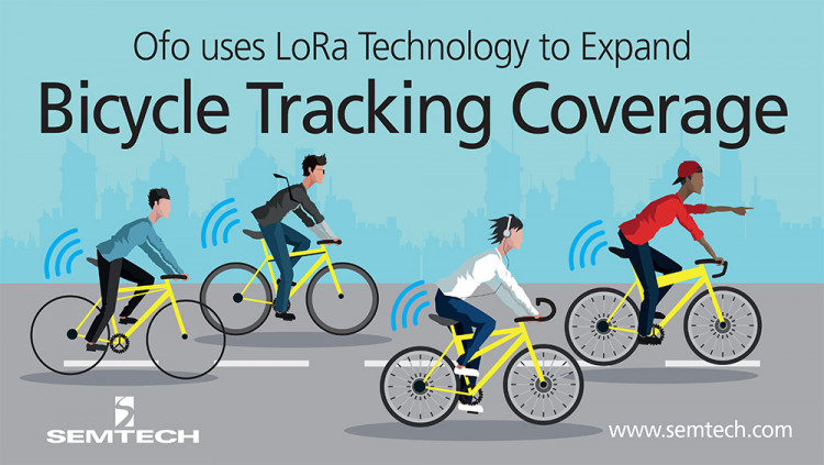 Ofo Adopts Semtech's LoRa Technology to Expand Bicycle Tracking Coverage The Chinese-based company integrates LoRa Technology to track bicycle locations and reduce operation costs