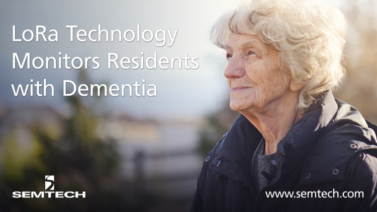 Semtech's LoRa Technology Locates and Actively Monitors Residents with Dementia CareBand's LoRa-based solution enhances quality of life for those living with dementia through proactive diagnostic technology