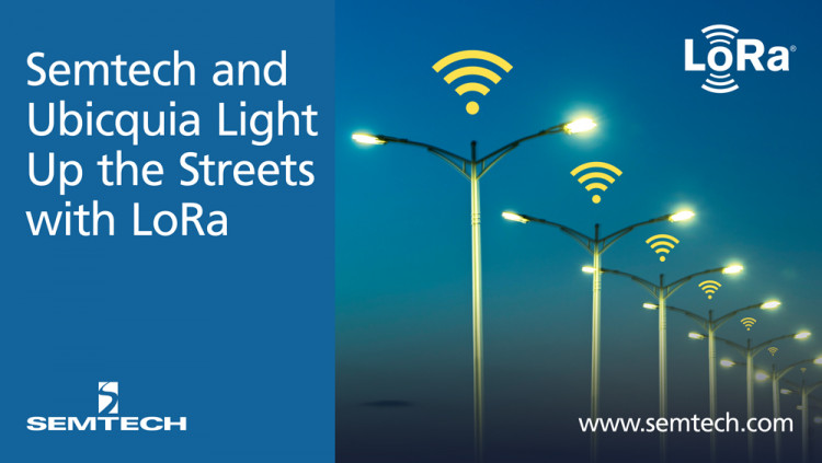 Semtech and Ubicquia Light Up the Streets with a Smart Grid LoRa-based IoT Solution Ubicquia's smart street light solutions provide a multitude of advanced functions and Cloud-based analytics