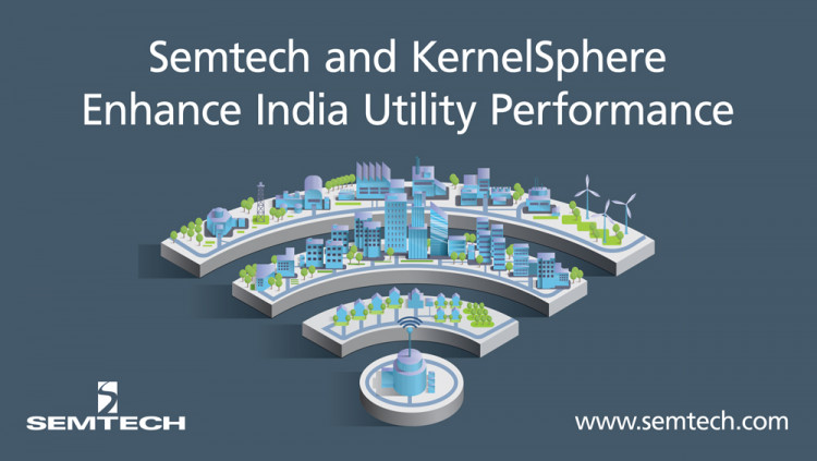 Semtech and KernelSphere Collaborate to Enhance Utility Performance in India KernelSphere Technologies deploys its new LoRa-based IoT transformer monitoring solution in Jamshedpur to ensure energy flow and prevent power outages