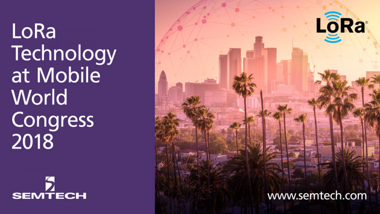 Semtech's Proven Internet of Things (IoT) Solution Exhibits at MWC Americas