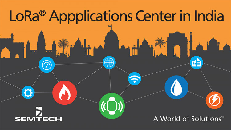 Semtech and Tata Communications to inaugurate 'Applications Center for LoRa Technology' in India New applications center key to support the deployment of 35 IoT applications across Bengaluru, Delhi and Mumbai
