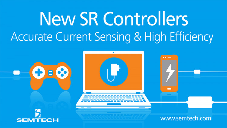 Semtech Reveals New Current-Based Synchronous Rectifier Topology for Consumer Devices Synchronous rectifier controller achieves higher performance at a lower cost and meets the latest regulatory standards