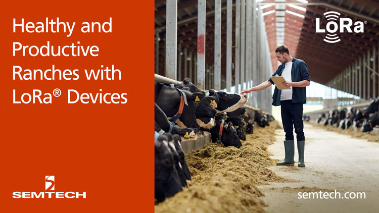 Semtech and itk Create Healthy and Productive Ranches with LoRa® Devices